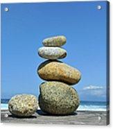 Zen Stones I Acrylic Print
