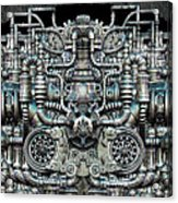 Zengine V1 Acrylic Print by Pixel Chemist