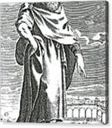 Zeno Of Citium, Ancient Greek Acrylic Print