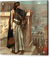 Zenobia's Last Look On Palmyra Acrylic Print