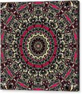 Zentangle No. 7 Kaleidoscope Acrylic Print
