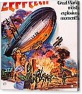 Zeppelin, Us Poster Art, Front Acrylic Print