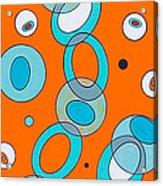 Zero Point Matrix Cascade Acrylic Print