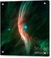 Zeta Ophiuchi Bow Shock, Infrared Image Acrylic Print
