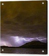 Zeus' Wrath Acrylic Print