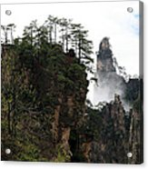 Zhangjiajie National Forest Park In China Acrylic Print