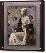 Ziegfeld Girl Acrylic Print