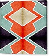 Zig Zag Angles 3 Acrylic Print