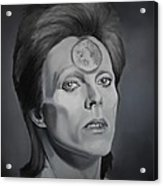 Ziggy Stardust Acrylic Print