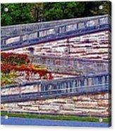 Zigzag Wall Acrylic Print