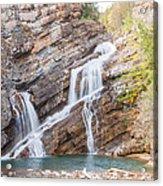 Zigzag Waterfall Acrylic Print