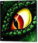 'zilla's Eye On You Acrylic Print