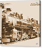 Zillertal Railway Acrylic Print