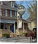 Zimmerman's Store Intercourse Pennsylvania Acrylic Print