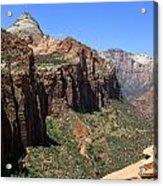 Zion Canyon Overlook Acrylic Print