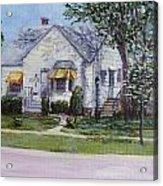 Zion House Acrylic Print