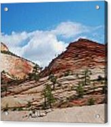 Zion National Park 1 Acrylic Print