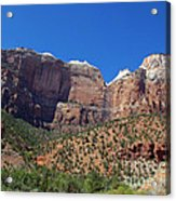 Zion National Park 3 Acrylic Print