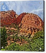 Zion National Park In Summer Acrylic Print