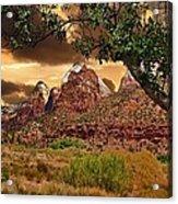 Zion National Park Work Of Art  Acrylic Print