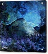 Zion Nights Acrylic Print