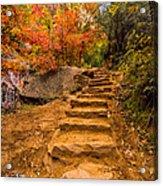 Zion Staircase Acrylic Print
