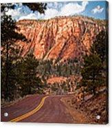 Zion View Acrylic Print