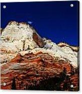 Zions Mount Acrylic Print