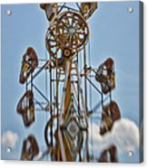 Zipper In The Sky Acrylic Print