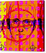 Zodiac Killer Three With Code And Sign 20130213 Acrylic Print by Wingsdomain Art and Photography