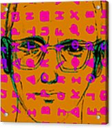 Zodiac Killer With Code And Sign 20130213m80 Acrylic Print