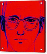 Zodiac Killer With Sign 20130213m128 Acrylic Print by Wingsdomain Art and Photography
