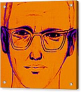 Zodiac Killer With Sign 20130213m98 Acrylic Print by Wingsdomain Art and Photography