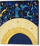 Zodiac Moon Acrylic Print