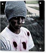 Zombie Kid Acrylic Print