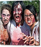 Zombie Run Nola 24 Acrylic Print