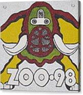 98 Kzew Radio Logo Acrylic Print