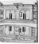 Zoroastrian Temple Acrylic Print