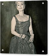 Zsazsa Gabor In The 1950's Acrylic Print