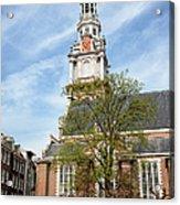 Zuiderkerk In Amsterdam Acrylic Print