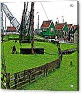Zuiderzee Open Air Musuem In Enkhuizen-netherlands Acrylic Print