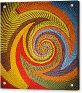 Zulu Basket Detail  Acrylic Print