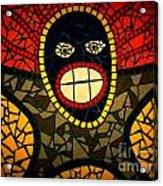 Zulu Man In Lomo Acrylic Print