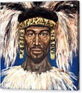 Zulu Warrior Acrylic Print