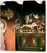 Zuthrul Phug Monastery Milarepas Cave Acrylic Print