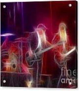 Zz Top-rhythmeen-c23-fractal-4 Acrylic Print