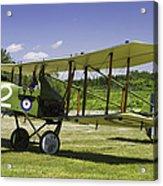1916 Royal Aircraft F.e.8 World War One Airplane Photo Poster Print Acrylic Print