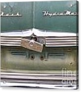 1951 Nash Ambassador Hydramatic Back Acrylic Print