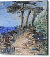 3 By The Sea Acrylic Print by Michel Croteau