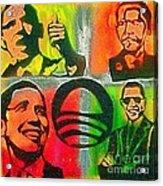 4 Barack  Acrylic Print